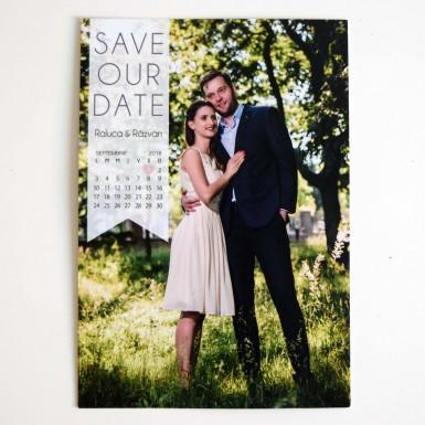 Invitatie nunta tip calendar-poza BIN222