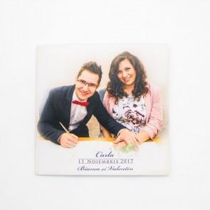 Invitatie nunta tip poza BIN171
