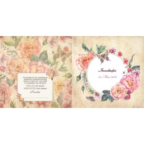 Invitatie nunta BIN121