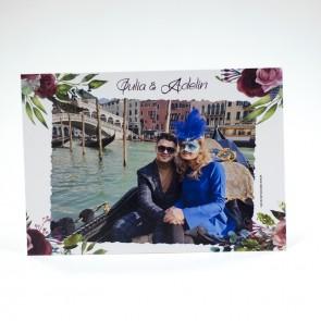 Invitatie nunta tip calendar BIN231