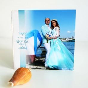Invitatie nunta tip poza BIN209