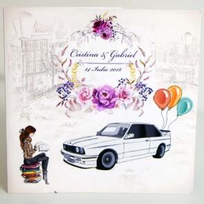 Invitatie nunta BIN212