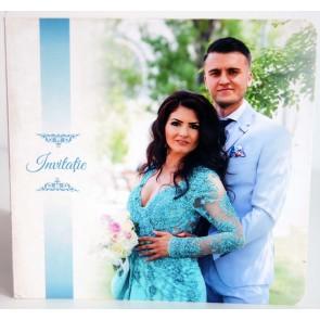 Invitatie nunta tip poza BIN219